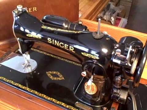 400 Singer Model 400400mp40 YouTube New Antique Singer Sewing Machine Model 15 91