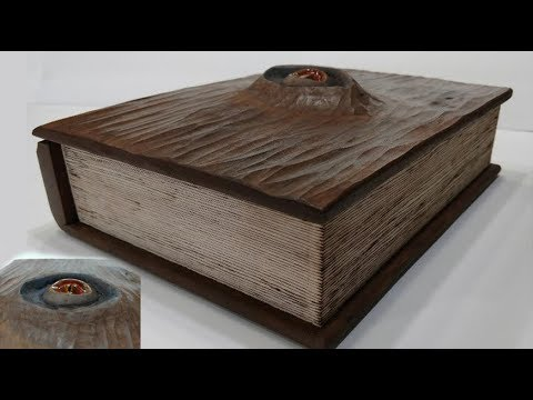 Wood Spell Book Box – Fun DIY Woodworking Project