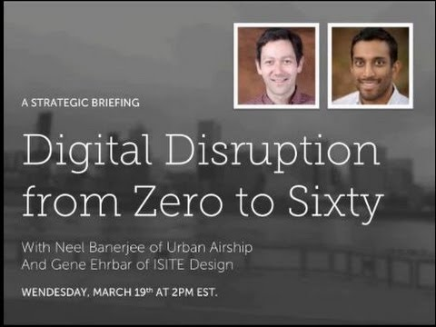 Digital Disruption from Zero to Sixty
