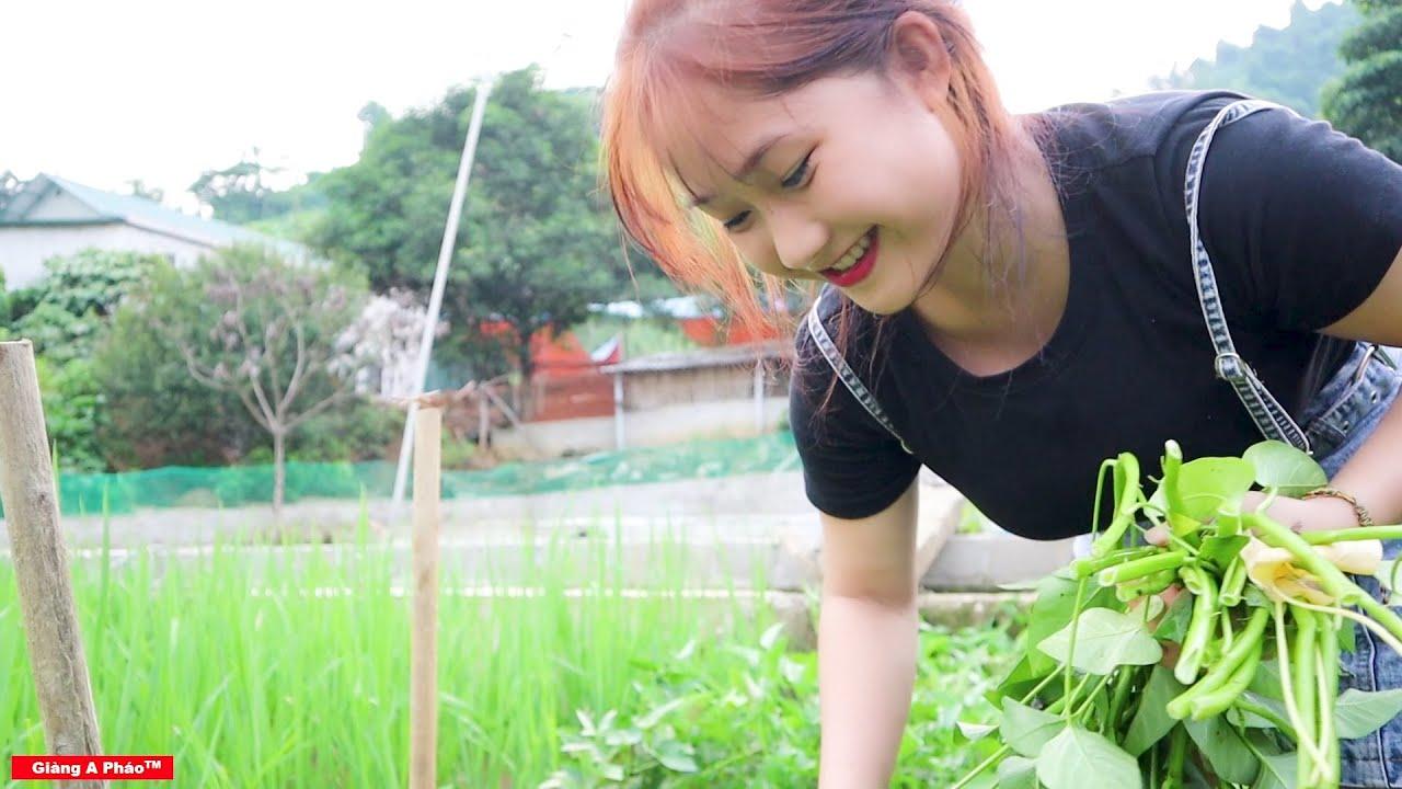 Cùng Em Gái Siêu Dễ Thương Làm Món Canh Bon Da Trâu - Đặc Sản Dân Tộc Thái Tây Bắc