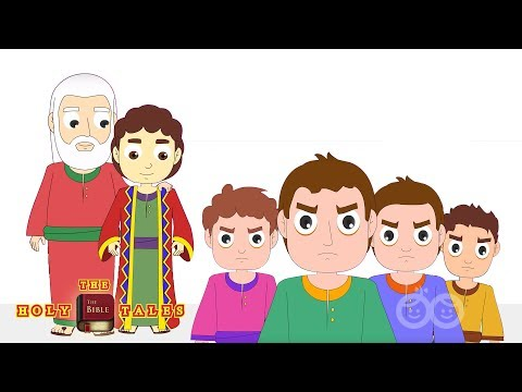 Joseph's Coat of Many Colors I Stories of Jacob I Children's Bible Stories   Holy TalesBible Stories