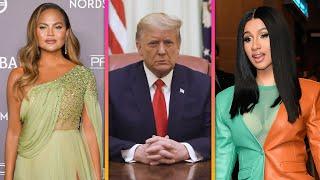 Trump's Second Impeachment: Chrissy Teigen, Cardi B And More React To Historic Moment