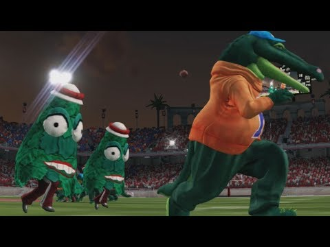 Trees vs. Alligators - Funny College Football Mascot Game Challenge