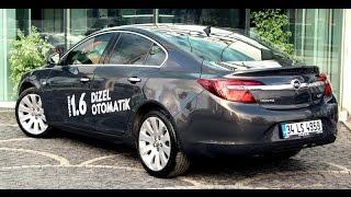 Test - Opel Insignia 1.6 CDTI Otomatik