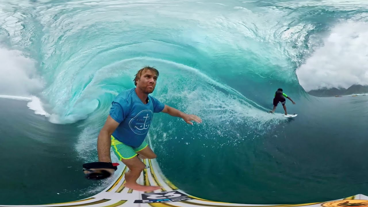 San Diego Wallpaper Hd Gopro Vr Tahiti Surf With Anthony Walsh And Matahi