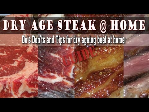 How To Dry Age Steak At Home