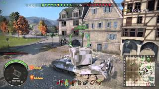 World of Tanks Xbox One: FV4005 Stage II Gameplay