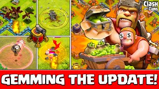 Clash of Clans Update ♦ 37,000 Gems and the Most CLUTCH Earthquake EVER! ♦ CoC ♦