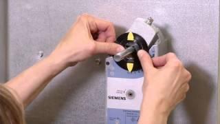 Siemens OpenAir Electronic Damper Actuator