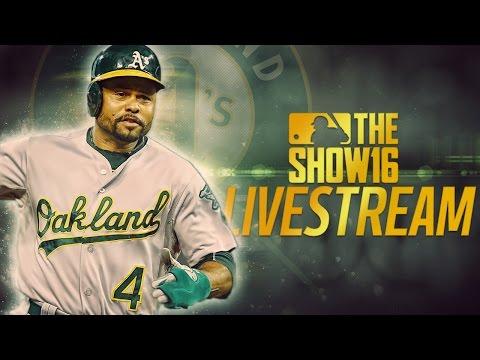 MLB The Show 16 Livestream | Diamond Dynasty | Farewell to Josh Reddick