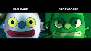 Gorillaz - Rhinestone Eyes | Fan Made VS Storyboard