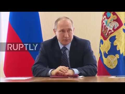 Russia: Putin chairs Security Council meeting ahead of Erdogan visit