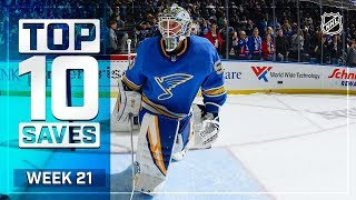 Top 10 Saves from Week 21