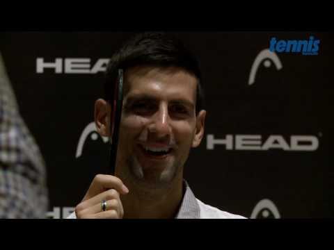 Novak Djokovic – Interview ohne Worte!