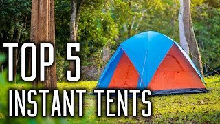 Best Instant Tents in 2018 - Best Tents for Family Camping