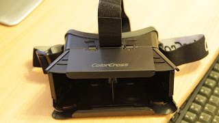 "ColorCross Universal Virtual Reality 3D & Video Glasses for 4~7"" Smartphones Review"