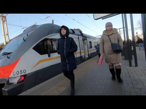 МЦД, ЭП2Д-0050, маршрут D1: Одинцово - Лобня - второй день работы