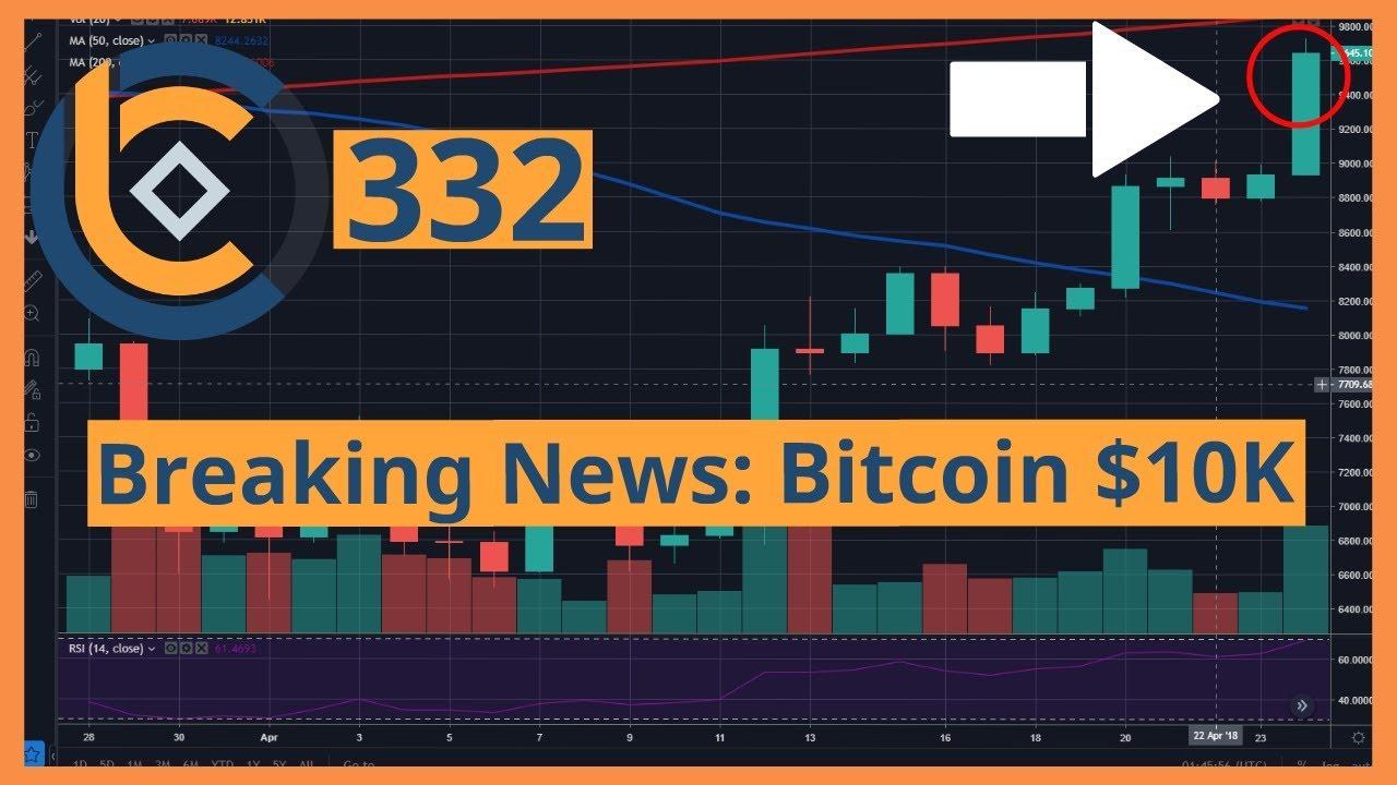 #332 - Breaking News: Bitcoin $10K + Bitcoin ETF | Crypto Currency | Tiền Kỹ Thuật Số | Tài Chính