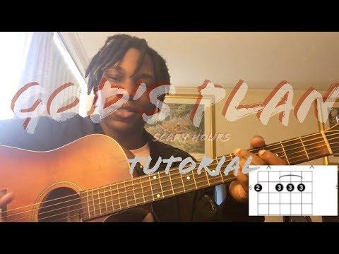 God's Plan - Guitar Tutorial (So Easy)!!!!!! 🙏🏾