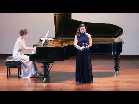 Akiko Forster Miyamoto sings Franz Liszt's songs 宮本あき子