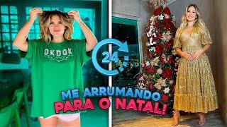 24H ME ARRUMANDO PARA O NATAL!!