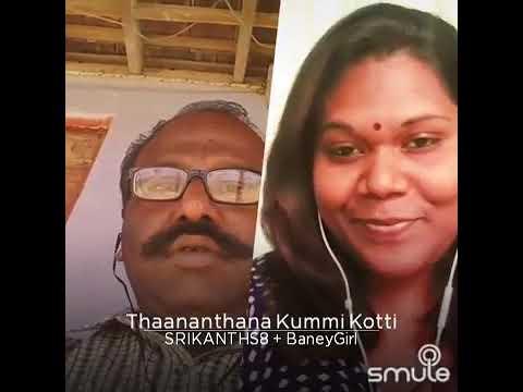 Thananthana Kummi kotti song