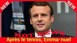 Après le tennis, Emmanuel Macron se met à la boxe et s