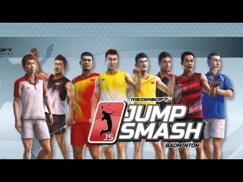 Badminton: Jump Smash Android Game GamePlay (HD) [Game For Kids]