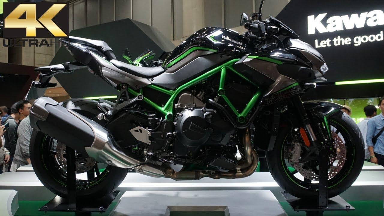 New 2020 Kawasaki Z H2 Naked Supercharged GREEN *£800 PAID