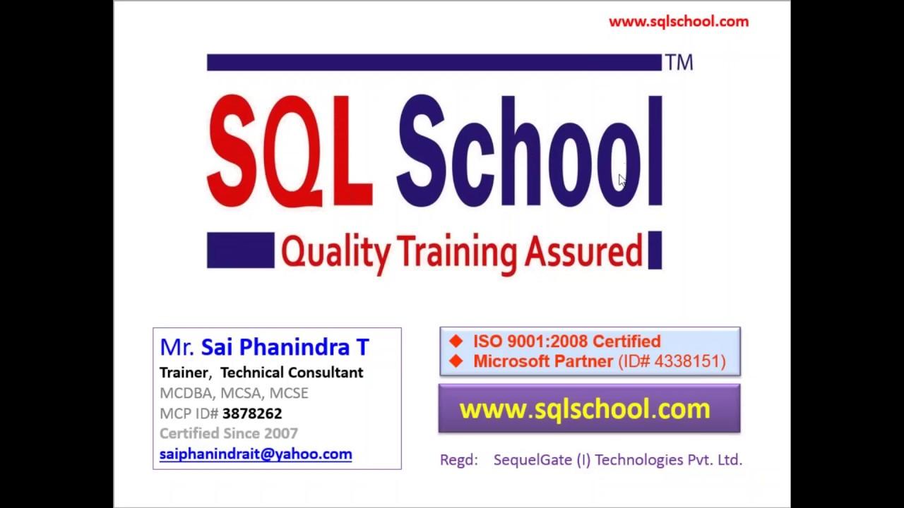 Msbi training video from sql school training institute youtube msbi training video from sql school training institute xflitez Gallery