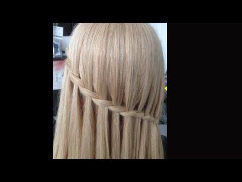 Hoe Maak je Waterval Vlecht 2018, Waterfall braids,1  Amal Hermuz