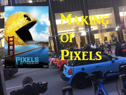 Making of Pixels in Toronto
