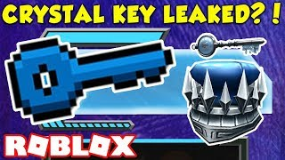 ROBLOX CRYSTAL KEY LOCATION LEAKED?! DEV UNDER FIRE (Ready Player One Event)