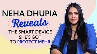 Smart mom Neha Dhupia talks about Mehr, reveals Mortein Smart device makes her life convenient