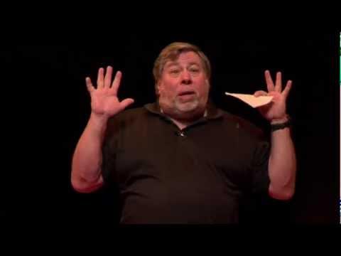 Techology and social revolution: Steve Wozniak at TEDxBrussels