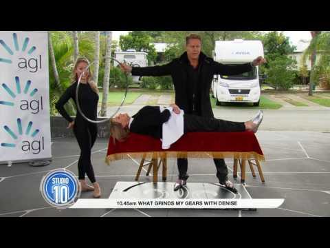 Magician Matt Hollywood Makes Denise Drysdale Levitate   Studio 10