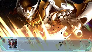 PS4「スーパーロボット大戦OG ムーン・デュエラーズ」 機体名:ヴァルク・ベン パイロット:バルシェム(アイン) カットイン名 1(0:01)オウル・...