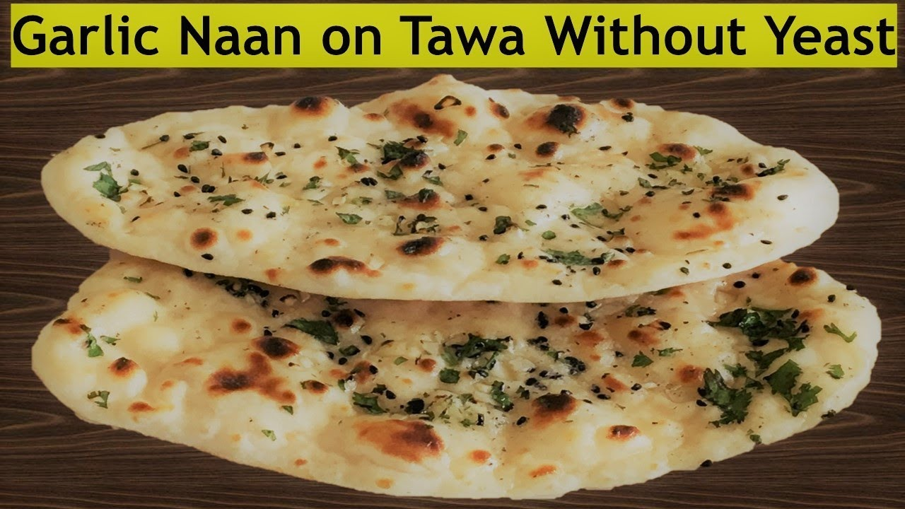 how to make quick naan bread without yeast
