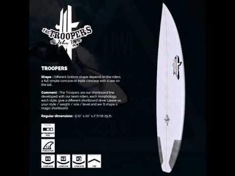 uwl surfboards troopers