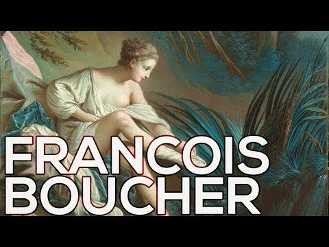 Francois Boucher: A collection of 344 paintings (HD)