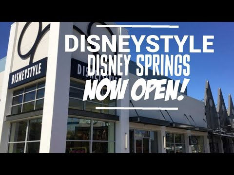 NOW OPEN! DISNEYSTYLE at Disney Springs & its amazing! 5/7/18
