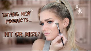 TRYING OUT NEW PRODUCTS...   Samantha Ravndahl