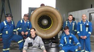 Ship Propulsion Jet Engine Run