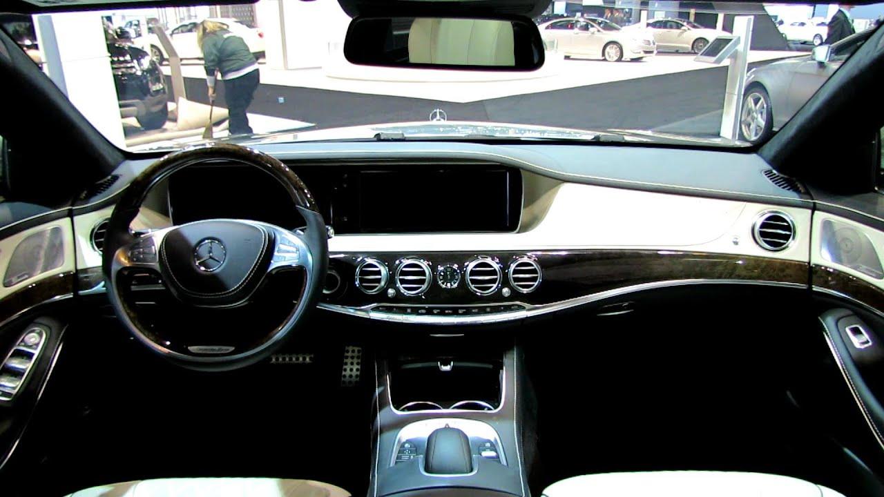 2014 mercedesbenz sclass s550 interior walkaround and