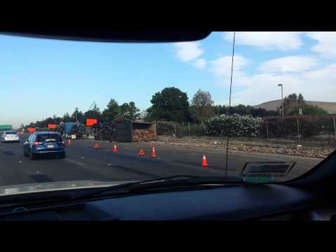 Bad accident on interstate 580