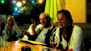 la chansonnette  du camping des Romarins
