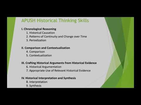 AP US History Homework Night Presentation - 2020