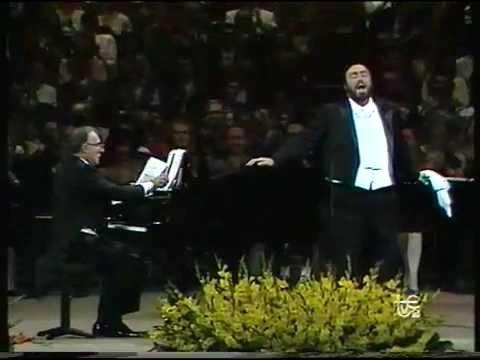 Pavarotti en el Teatre de Liceu.1989. Primera parte