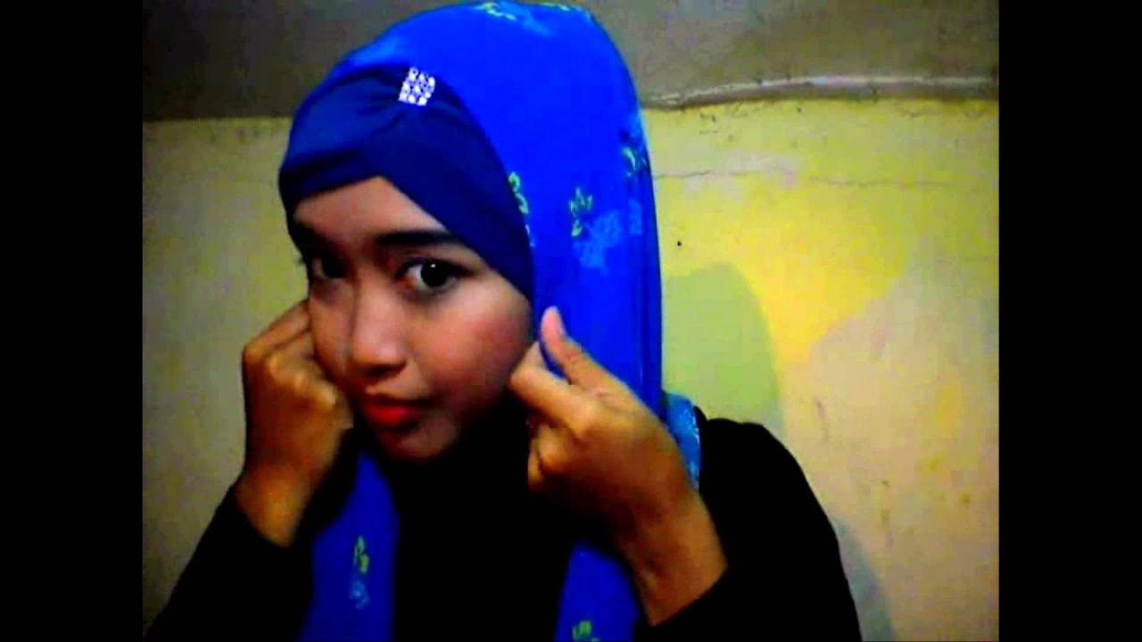Tutorial Hijab Paris Dengan Ciput Maroko YouTube
