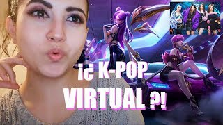 REACCIÓN A K/DA - POP/STARS  (Virtual K-Pop Group/Opening Ceremony 2018 League Of Legends)